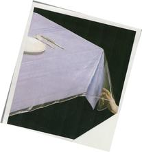 Superior Collection Clear Heavy Duty Tablecloth Protector 54