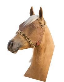 Farnam Supermask II Fly Mask Eye Care for Horse, Copper Mesh