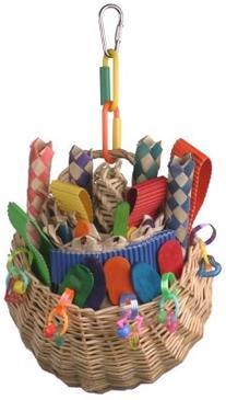 Super Bird Creations SB00669 Foraging Basket Toy