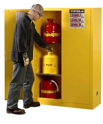 Justrite 894500 Sure-Grip EX Flammable Safety Cabinet, 2