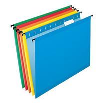 Pendaflex SureHook Reinforced Hanging Folders, Letter Size,