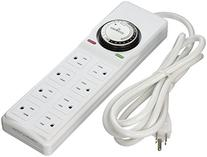 Hydrofarm Surge Protector with 8 outlets & Timer