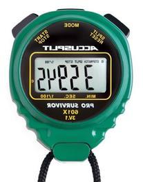 ACCUSPLIT Pro Survivor - A601X Stopwatch, Clock, Extra Large