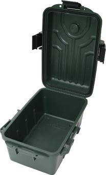 MTM Survivor Plastic Dry Box with Built In Compass and