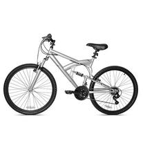 Reaction  ICO-SH Full-Suspension Mountain Bike, Silver