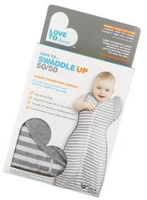 Love To Dream Swaddle UP 50/50 Original 1.0 TOG, Gray,