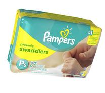 Pampers Swaddlers Diapers - Preemie - 27 ct
