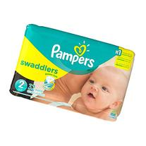 Pampers Swaddlers Diapers Size 2 Jumbo bag 32 count diapers