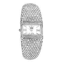 Badgley Mischka® Swarovski Crystal Accented Silvertone