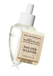 Bath & Body Works Sweater Weather Wallflowers Home Fragrance