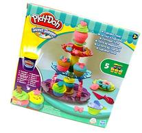 Play-Doh Sweet Shop Creations Cupcake Tower With Frosting