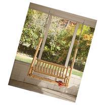 Outdoor Swings For Adults,Wooden Porch Swings,Deluxe Cedar