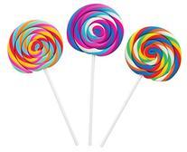 Raymond Geddes Swirl Pop Scented Erasers, Set of 24