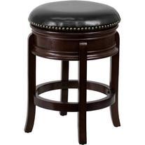 "Flash Furniture 24"" Swivel Bar Stool with Cushion"