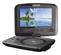 Sylvania 7-Inch Portable DVD Player, Swivel Screen, USB/SD