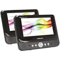 Sylvania SDVD8737 7-Inch Dual Screen Portable DVD Player