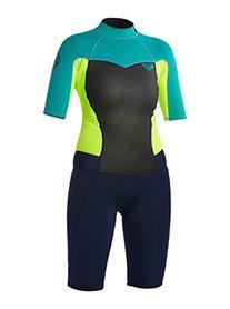 Womens  Syncro 2/2 Spring Back Zip Flatlock - Wetsuit -