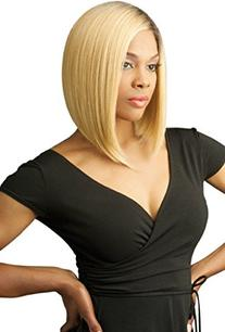 New Born Free Synthetic Lace Front Wig Curved Part Magic