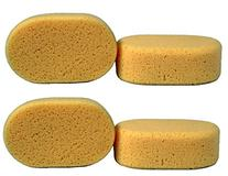 Creative Hobbies Value Pack of 4 Sponges for Painting,