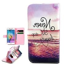 Vogue Shop Synthetic Wallet Kickstand Flip Case with Card