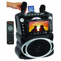 Karaoke USA Karaoke System with 7-Inch TFT Color Screen and