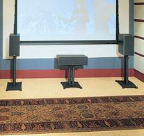 """Sanus Steel Series 18"""" Speaker Stand for Center Channel"""