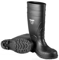 Sz12 Blk Stl Toe Boots