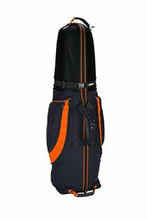 Bag Boy T-10 Hard Top Travel Cover, Black/Orange