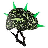KRASH T-Rex Bonez Liberty Helmet, Black
