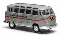 VW T1 Sambabus, silver, Model Car, Ready-made, Greenlight 1: