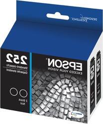 Epson T252120-D2 DURABrite Ultra Black Dual Pack Standard
