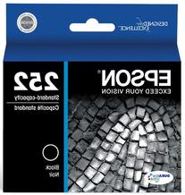 Epson 252 Original, Black Ink Cartridge