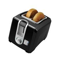 BLACK+DECKER T2569B 2-Slice Toaster, Bagel Toaster, Black