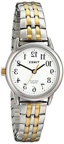 Timex Women's T2P298 Easy Reader Dress Two-Tone Stainless
