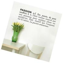BLABLA by ADzif T3108-FRR73 Passion french, Wall Decal Color