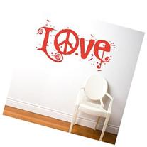BLABLA by ADzif T3113R31 Peace and Love, Wall Decal Color