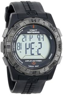 Timex Men's T49851 Expedition Vibration Alarm Black Resin