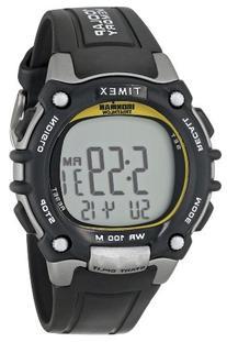 Timex Men's T5E231 Ironman Classic 100 Full-Size Black/
