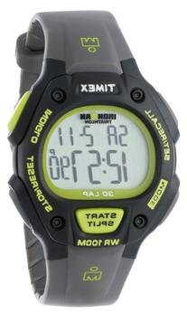Timex Men's T5K692 Ironman Classic 30 Full-Size Gray/Green