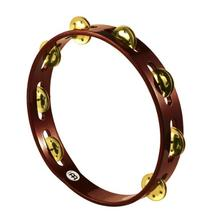 Meinl Percussion TA1B-AB Traditional 10-Inch Wood Tambourine