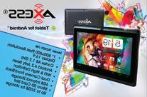 """AXESS TA2509-7BK 7"""" GOOGLE PLAY Tablet with Android 4.1"""