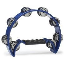 Stagg TAB-2 BL Cutaway Plastic Tambourine with 16 Jingles -