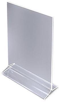 Dazzling Displays Table Card Display/Plastic Upright Menu Ad