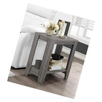 End Table, Grey