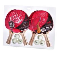 Viper Table Tennis Accessory Set, 4 Rackets/Paddles and 6