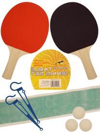 Table Tennis Bat Balls And Net