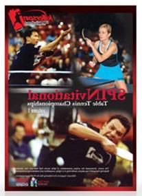 Killerspin 504-11 Table Tennis SPINvitational DVD, Volume 1