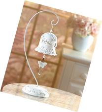 """Friend"" Tabletop Bell with Stand"