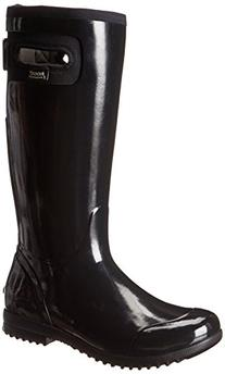 Women's Tacoma Tall All Weather Rain Boot, Black,8 M US