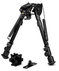 Trinity Force Tactical Full-Size Adj. Height Bipod, Black,